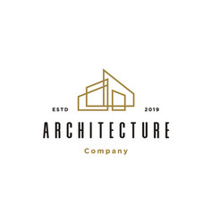 Architecture real estate building logo vector