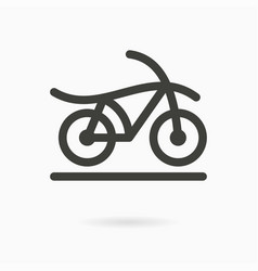 Bicycle - icon vector