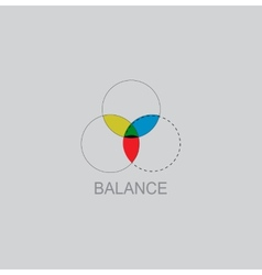 Color Balance icon vector image