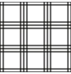 Tartan seamless pattern white vector image
