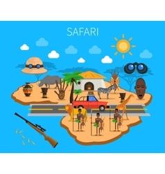 Safari Concept vector image vector image