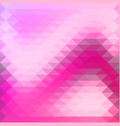 background in pink purple triangles overlap vector image