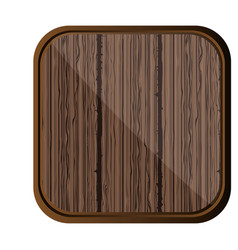 Brown wool backgound icon vector