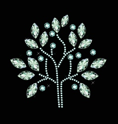 Diamond Fruit Tree vector image vector image