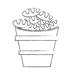 bread religion catholic symbol vector image vector image