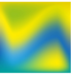 background in blue green yellow blurred vector image