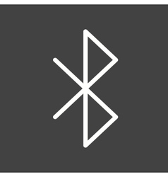 Bluetooth vector image