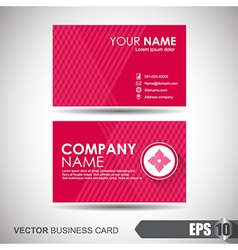 Business Card 006 vector