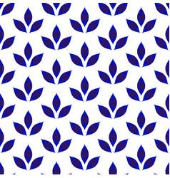 Ceramic seamless pattern vector