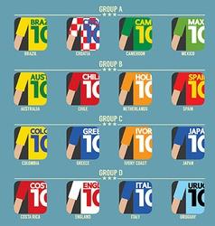Football Tournament vector image vector image