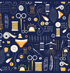 graphic pattern elements for sewing vector image