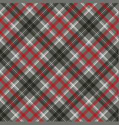gray check plaid pixel seamless pattern vector image
