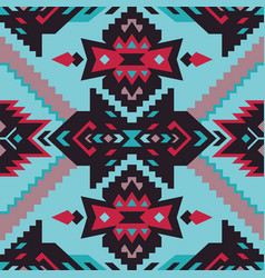 native southwest american aztec navajo seamless vector image