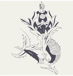 Phoenix tile vector