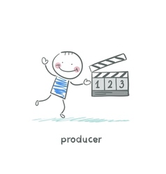 producer vector image