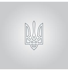 Trident icon vector image
