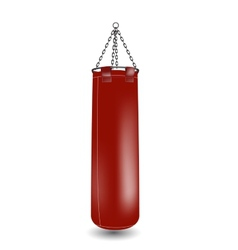 boxing punching bageps 10 vector image