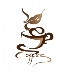 Coffee sign vector