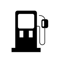 gasoline pump petrol fuel equipment design vector image