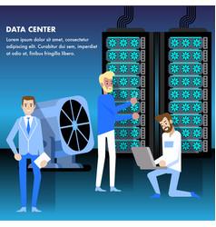 Data center concept security monitoring access vector