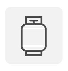 Gas tank icon vector