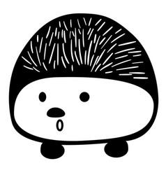Hedgehog eps vector