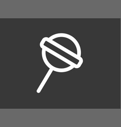 lolipop icon sign symbol vector image