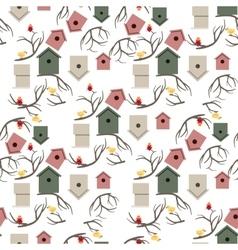Nesting box seamless pattern vector