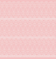 Seamless lace texture white lacy small flowers on vector