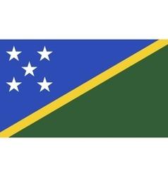 Solomon islands flag image vector