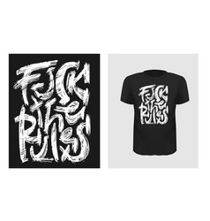 tshirt slogan design t shirt quote print vector image