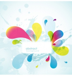 abstract colored background vector image