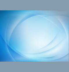 abstract blue blurred background eps 10 vector image