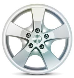 Wheel rim vector image vector image