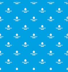 brush tool pattern seamless blue vector image