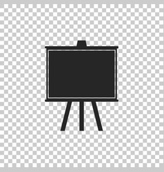 chalkboard icon isolated on transparent background vector image
