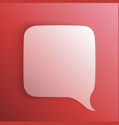 chat background red art creative vector image