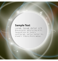 Connection background with place for text vector image