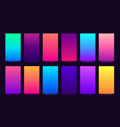gradient background colorful gradients blurred vector image