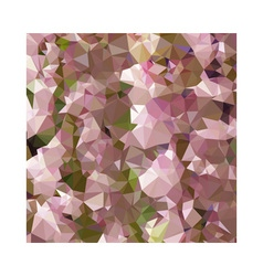 Lavender Rose Pink Abstract Low Polygon Background vector