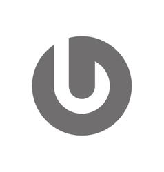 Letter J Logo Concept Icon vector image