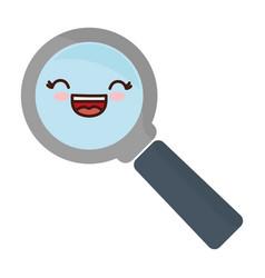 Magniyfing glass icon vector