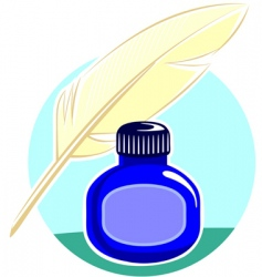 quill vector image