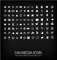 set office icon ofoffice mediamobile vector image