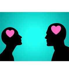 Think Love vector