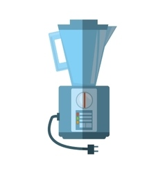 blender kitchen appliance shadow vector image vector image