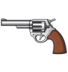 handgun-pistol vector image