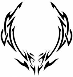 tribal vector image