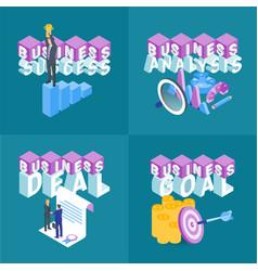business concepts set 03 vector image