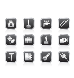 Construction and do it yourself icons vector